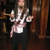Pirate Costume (Jack Sparrow)