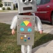 Halloween Costume: Robot