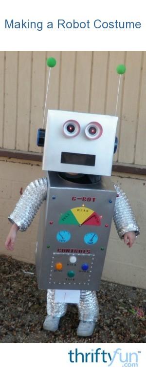 Making A Robot Costume Thriftyfun