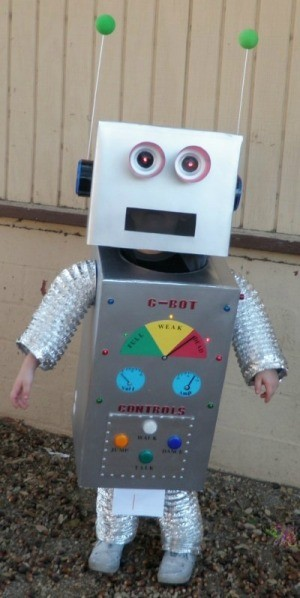 Making a Robot Costume