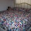 Yo yo bedspread.
