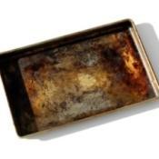 Baked On Food in Broiler Pan
