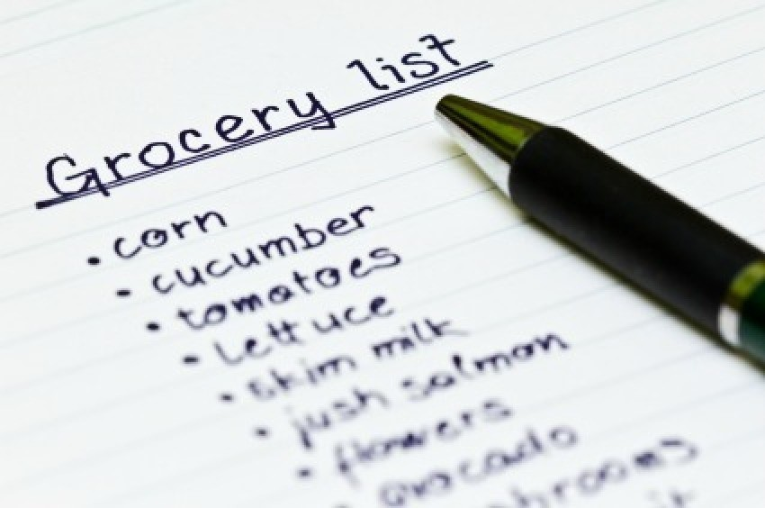 Creating A Grocery List | ThriftyFun