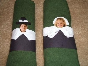 Pilgrim Napkin Rings For Thanksgiving