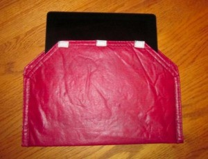 Reuse Placemats as an iPad Case
