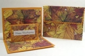 Thanksgiving greeting card.
