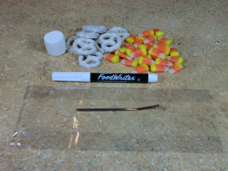 pretzel skeleton supplies