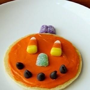 Decorated Pumpkin Pancake