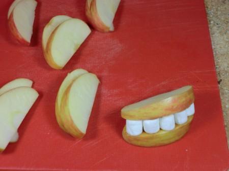 add second apple slice