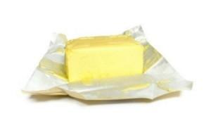 Butter in Foil Wrapper