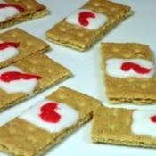 Halloween Band-Aid Cookies