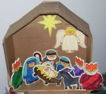 Nativity Scene Craft Ideas Thriftyfun
