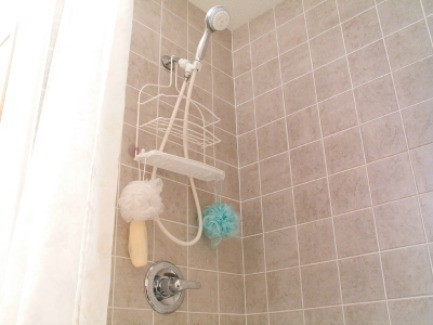 Photo Of A Shower And Bathtub. Finding A Good Way To Keep Hair From Going  Down The Drain ...