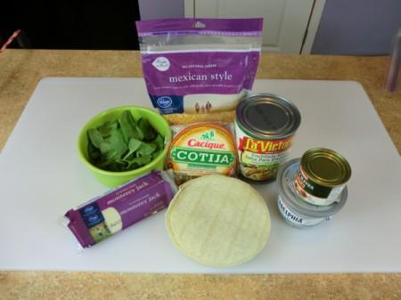 mummy enchilada ingredients