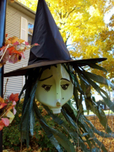Halloween Windsock Witch