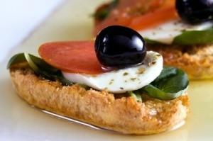 Italian Finger Sandwich