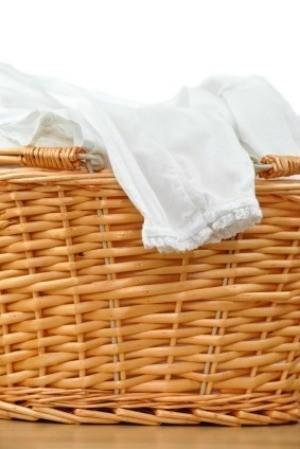 Organizing Clean Laundry