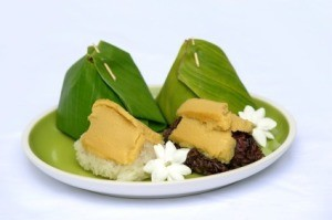 Using Banana Leaves