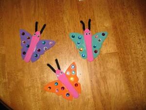 Magnetic Butterflies