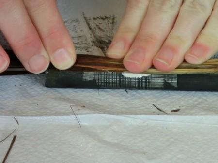 hot glue broom material 2