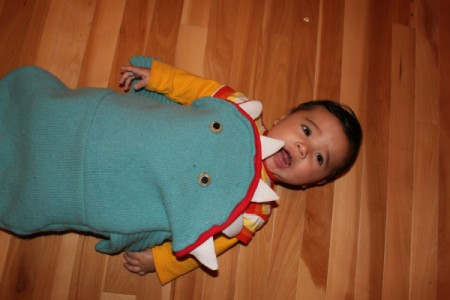 baby in costume