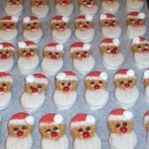 Santa Cookie Ideas
