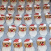 Santa Cookie Ideas