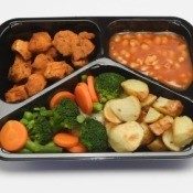 Reusing TV Dinner Trays