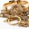 A pile of gold jewelry