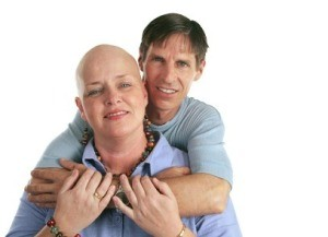 Couple Supporting Each Other While Dealing With Cancer