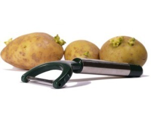 Potato Peeler With Potatoes