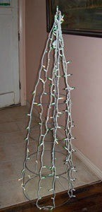 Tomato Cages Christmas Crafts