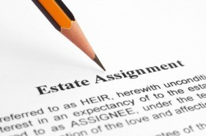 Estate Assignment Document