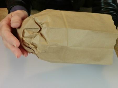 form end of bag
