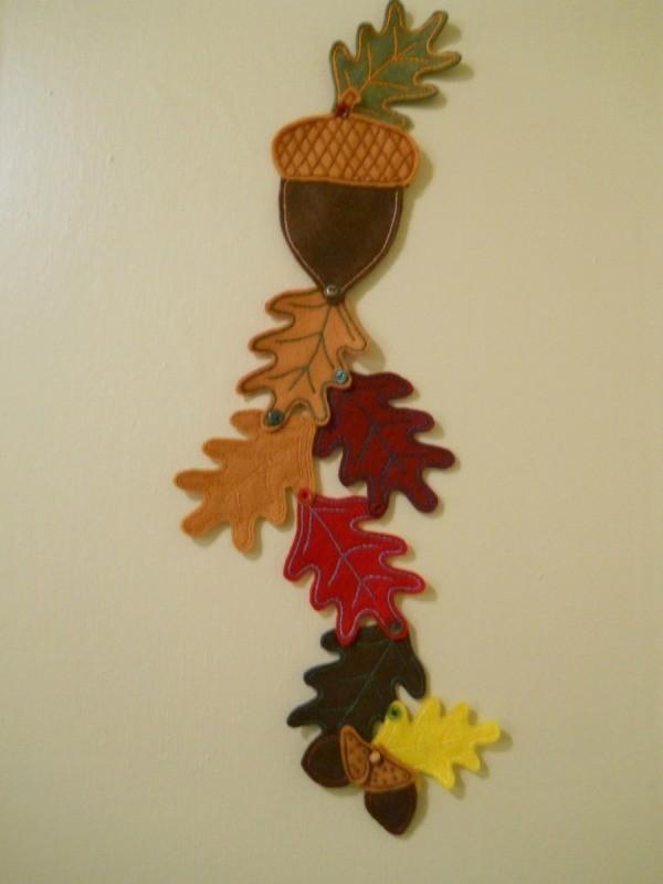 Autumn Felt Wall Or Door Hanging Thriftyfun