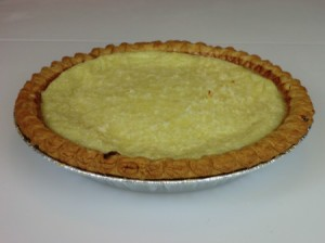 baked coconut custard pie