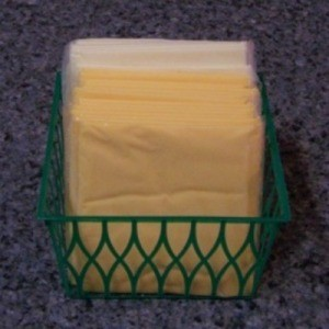 Berry Basket for Holding Sliced Cheese