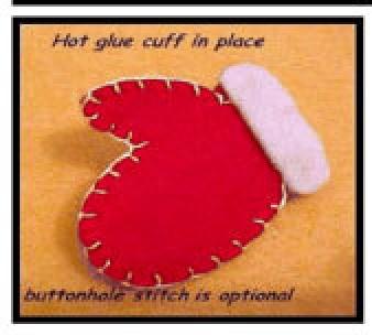 Gluing cuff in place.