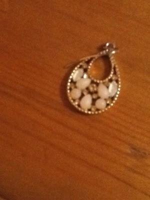 Pearl earring.