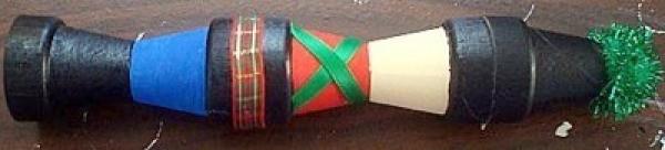 Adding ribbon.