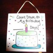 Dry Erase Birthday Tile