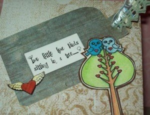 Cute note and tag.