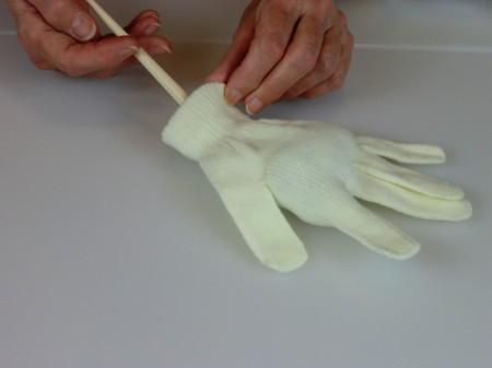 stufifng glove