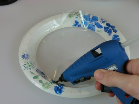 glue page protector to plate