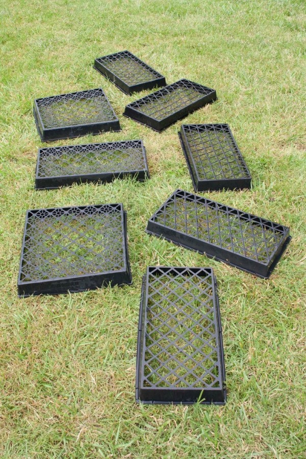 uses for plastic plant trays thriftyfun. Black Bedroom Furniture Sets. Home Design Ideas