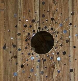 Retro Starburst Mirror