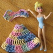 Crochet Outfits for Polly Pocket Dolls