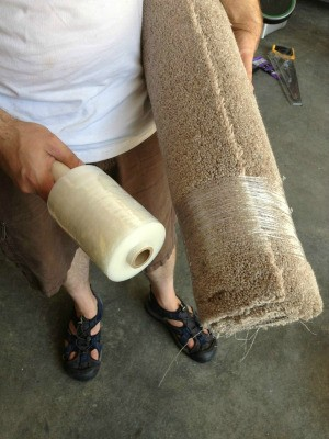 Uses for Old Carpet