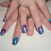 Tie Dye Your Nails