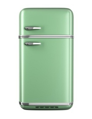 painting a refrigerator thriftyfun. Black Bedroom Furniture Sets. Home Design Ideas